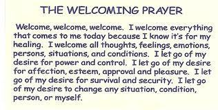 Welcoming Prayer Instructions | Meditative Prayer | Scoop.it