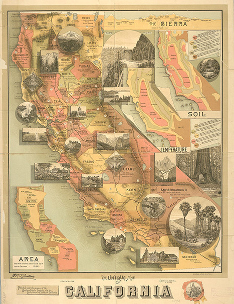 Thousands of Historic Maps Released by New York Public Library | History Today | Social Studies Infromation | Scoop.it