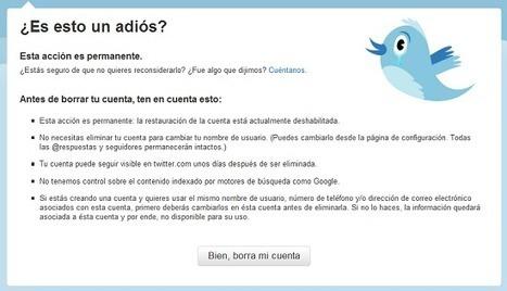 Seguridad en Twitter | Oficina de Seguridad del Internauta | Redes sociales en Educación | Scoop.it