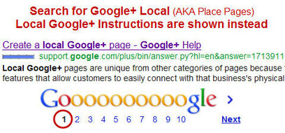 Confusion with Google+ Local Pages and Local Google+ Pages is Making SMB Heads Spin - Google Places – Google+ Local SEO Blog   Go Mobile Social Local Today    GoMoSoLo   Scoop.it