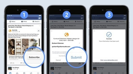 Facebook Tests Mobile Ads That Could Cure Lead-Generation Ills | MarketingHits | Scoop.it