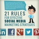 21 Rules For Effective Social Media Marketing Strategies[Infographic] | It's a geeky freaky cheesy world | Scoop.it