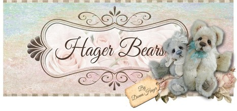 Hager Bears by Donna Hager: Showpiece for Exquisite Fall Teddy ... | Mascot Factory for Baby Toys | Scoop.it