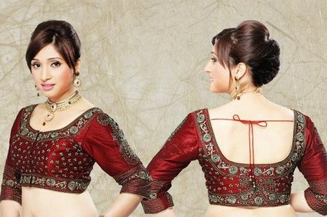 Top 5 Saree Blouse Designs 2013 | Indian Fashion Magazine | Scoop.it