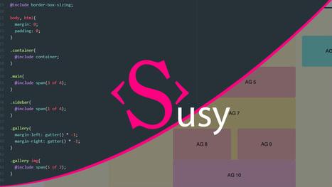 Tutoriel Vidéo HTML-CSS Présentation de Susy | Web mobile - UI Design - Html5-CSS3 | Scoop.it