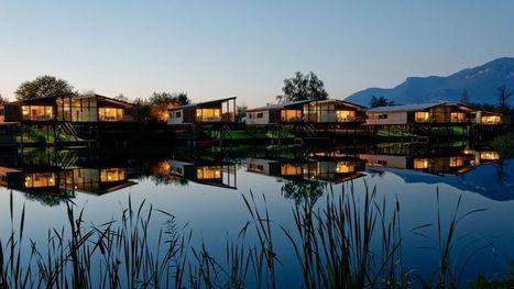 Les 5 cabanes sur l'eau | Actus Hotellerie de Plein Air | Scoop.it