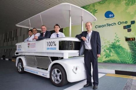 "Induct exporte sa navette autopilotée Navia | ""green business"" 