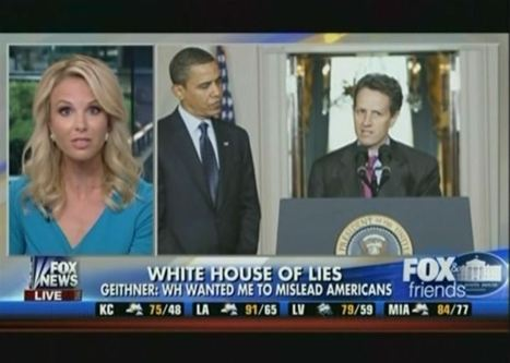 Fox News Thinks It Knows Timothy Geithner Better Than He Knows Himself | Daily Crew | Scoop.it
