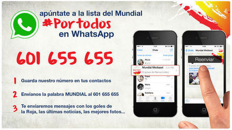 WhatsApp team up with Spanish broadcaster | Big Media (En & Fr) | Scoop.it