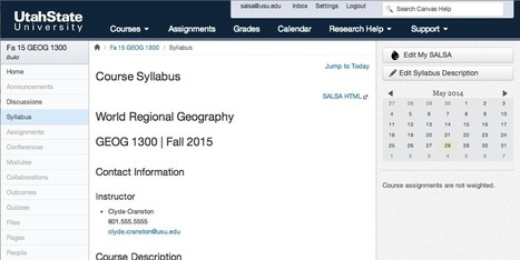 Syllabus tool integration with Moodle   Moodlicious   Scoop.it