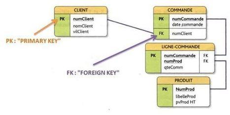 Le modèle relationnel de bases de données | Cours Informatique | Scoop.it