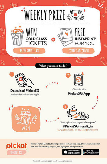 Pickat SG - Social Food Recommendation App - KeropokMan | Food Business Marketing | Scoop.it