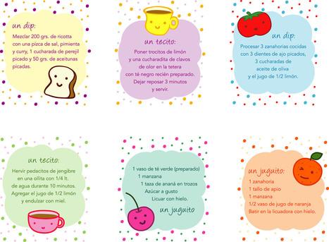 Mini-recetas | Recetas | Scoop.it