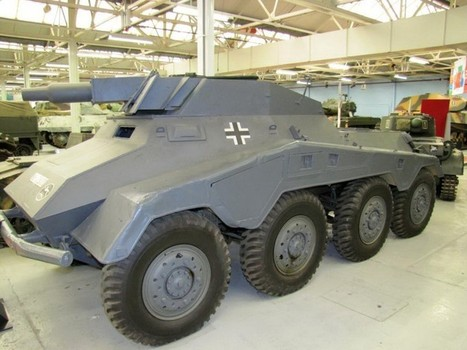 Sd.Kfz 234-3 – WalkAround | History Around the Net | Scoop.it