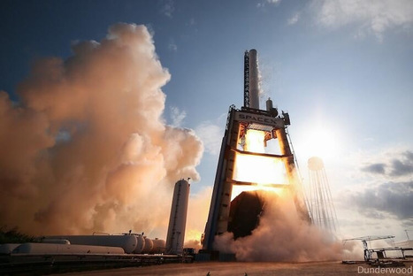 SpaceX Conducts First Firing for Falcon 9-R | The NewSpace Daily | Scoop.it
