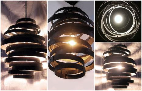 Vortex: Recycled steel wine barrel hoops   DIY & Crafts   Scoop.it