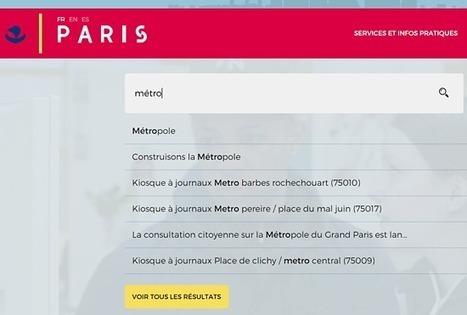 Paris parie risqué en misant sur son moteur de recherche - 60canards.com | Écolonomie, e-tourisme et réseaux sociaux | Scoop.it