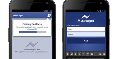 Facebook Messenger se actualiza e introduce mensajes de voz en iOS y Android - Globovision | Medios sociales y marketing 2.0 | Scoop.it