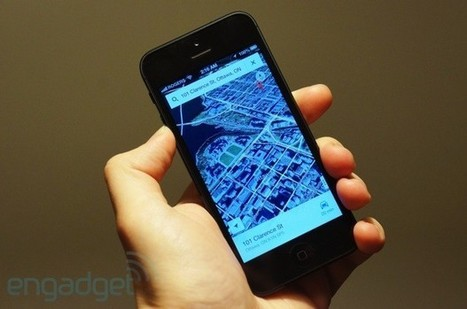Google Maps for iOS hands-on | Techno Geektart | Scoop.it