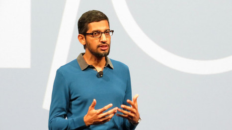 Sundar Pichai Appointed Google CEO As Google Becomes Division Of Alphabet Inc. | Social Media and Internet Marketing | Scoop.it