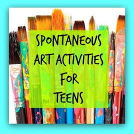 Spontaneous Art Therapy Activities for Teens - The Art of Emotional Healing | The power of Play | Scoop.it