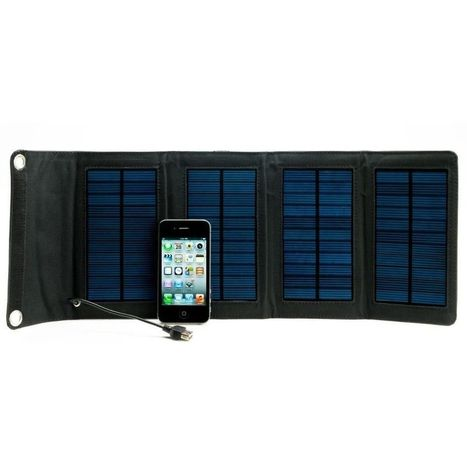 Portable Solar Charger StrongVolt SOLAR: 7 For Mobile iPhone/iPad/iPod Android | Portable Phone Charger | Scoop.it