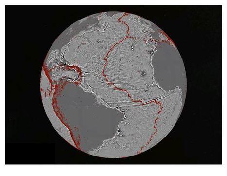 Amazing new maps of the ocean floor | Geo-visualization | Scoop.it