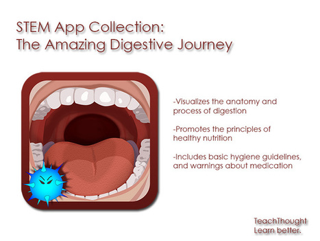 STEM App Collection: The Amazing Digestive Journey - TeachThought | iPads in Education | Scoop.it
