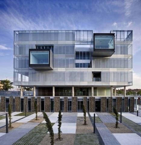 Fuencarral-El Pardo Police Station / Voluar Arquitectura | The Architecture of the City | Scoop.it