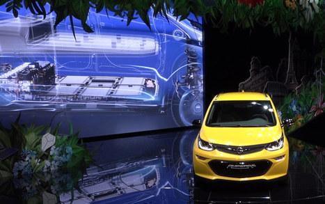 Autonomia da record per la Opel Ampera-E presentata a Parigi | green car | Scoop.it