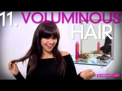 Get 16 Hairstyles With Two Clip-In Hair Extensions | hair extentions | Scoop.it