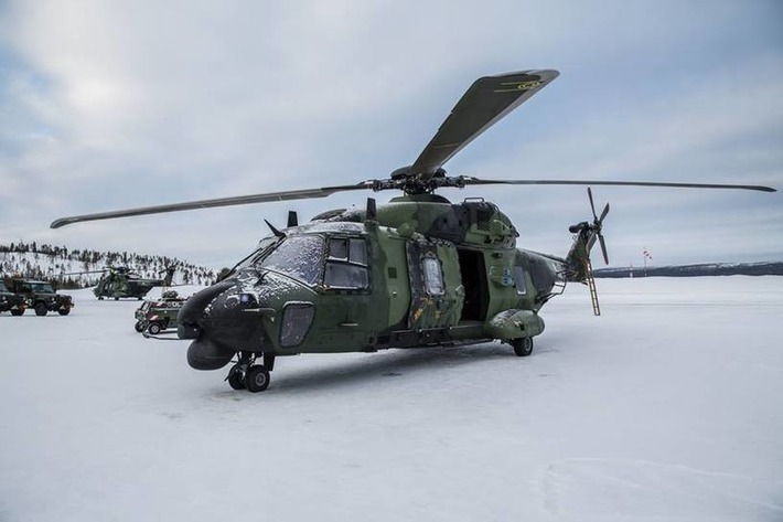 COLD BLADE 2016 - European Defence  Agency - NH90 - Utti Jaeger Regiment - Ivalo, Finland | NHIndustries - NH90 | Scoop.it