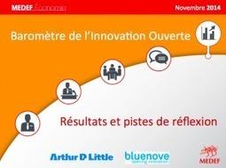 Baromètre Open Innovation du MEDEF - Comment mobiliser l'intelligence collective et développer l'innovation ouverte pour être plus compétitif ?   Coaching de l'Intelligence et de la conscience collective   Scoop.it