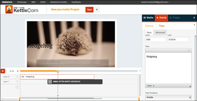 Popcorn Maker video tool remixed for journalists | Media news | Journalism.co.uk | Audiovisual 2.0 | Scoop.it