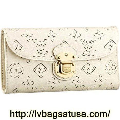 Louis Vuitton Amelia Wallet Mahina Leather M58132 | Cheap Sale Louis Vuitton Factory Outlet Online | Scoop.it