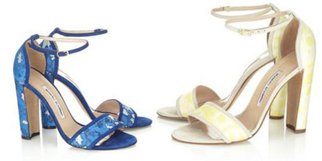 Manolo Blahnik shoes for Alexander Lewis | fashion and runway - sfilate e moda | Scoop.it
