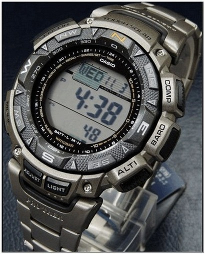 CASIO PAG240T-7CR Pathfinder Multifunctional Solar Watch for Men - Recommend | Deals News Share | Scoop.it