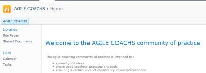 Notre Manager Agile Initie et soutient les communautés de pratiques | Coaching de l'Intelligence et de la conscience collective | Scoop.it