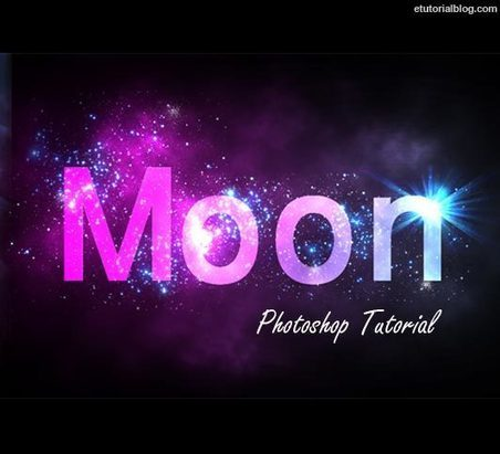 Create Sparkling Text Effect In Photoshop – Easy Tutorial - E Tutorial Blog | ETutorialBlog | Scoop.it