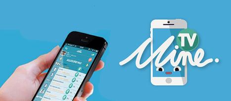 Application TV Mine : le premier réseau social TV des chaînes de la TNT   Mon second écran   Scoop.it
