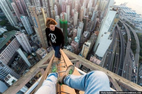 [Sport] Incroyable escalade de la Shanghai Tower (632m) par le team russe « On the Roofs » | Lifestyle & Inspiration | Scoop.it