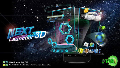 Next Launcher 3D Shell Android 3.05.1 APK Free Download ~ Make Use Of Android | rahul | Scoop.it