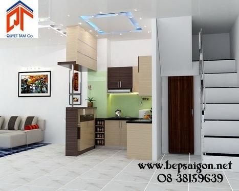 bepsaigon.net - Tủ bếp nhà anh Phước - Đồng Nai - tu bep nha anh Phuoc - Dong Nai | Tủ bếp Acrylic - MFC | Scoop.it