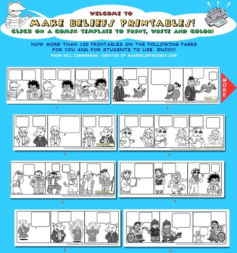 MakeBeliefComix.com Printables!   Technology for classrooms   Scoop.it