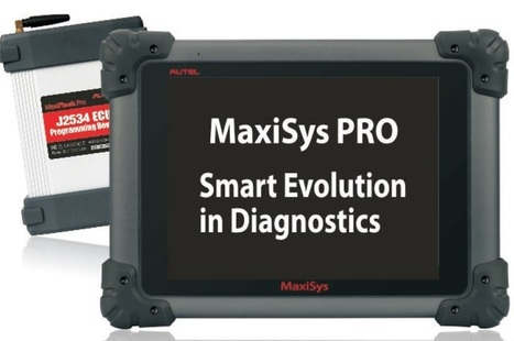 Autel Maxisys PRO Tablet Wifi Bluetooth Diagnostic Scanner | Branded Garage Equipments in Australia | Scoop.it