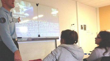 Prévention sur les dangers du web au collège Misedon - Ouest-France | Veille et médias sociaux | Scoop.it