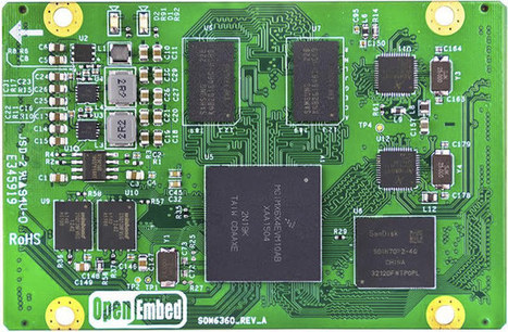 OpenEmbed SOM6360 is a $69 Freescale i.MX6 SoloX System-on-Module | Embedded Systems News | Scoop.it