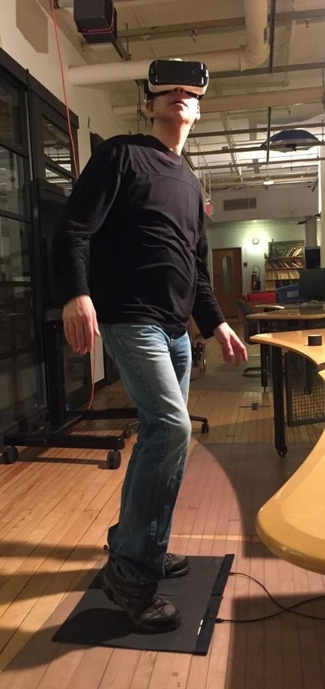 La realidad virtual también sabrá lo que hacen tus pies gracias a estas alfombrillas - MIT Technology Review   RED.ED.TIC   Scoop.it