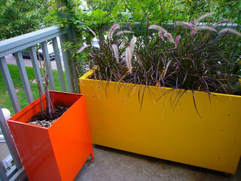 Create planters from metal file cabinets | Landscape design | Scoop.it
