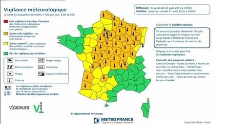 Canicule : nouvelle hausse des températures samedi dans le Sud-Ouest | BABinfo Pays Basque | Scoop.it